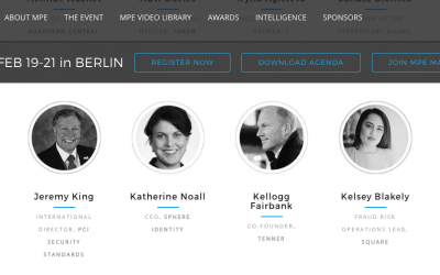 EVENT | Tenner to speak at Merchant Payments Ecosystem Feb 19-21 in Berlin